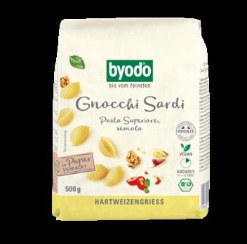 Byodo Gnocchi Sardi, semola 500g