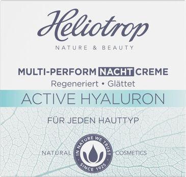 Heliotrop ACTIVE Hyaluron Multi-Perform Nachtcreme 50ml