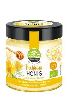 agava Hochlandhonig - wilde Sonnenblumen 500g