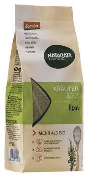 Naturata Kräutersalz Nachfüllpackung demeter 500g