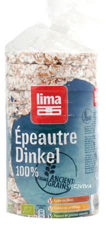 Lima Getreidewaffeln Dinkel 100% 100g