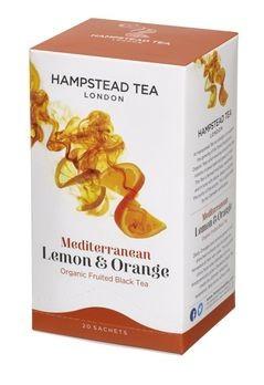 Hampstead Tea Lemon Orange 20Btl