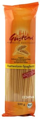 Gustoni Hartweizen-Spaghetti bronze 500g