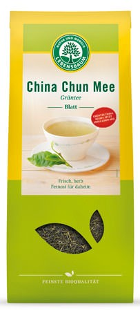 Lebensbaum Grüntee China Chun Mee Blatt 1kg