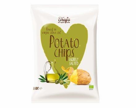 Trafo Kartoffelchips in Olivenöl gebacken 100g