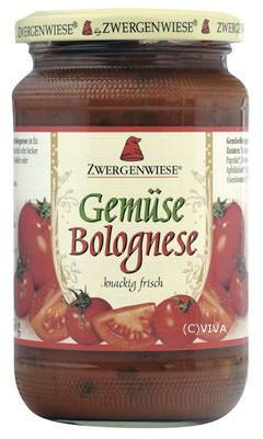 Zwergenwiese Gemüse Bolognese 350g