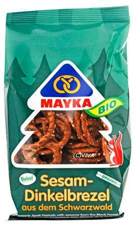 Mayka Sesam-Dinkelbrezel 125g