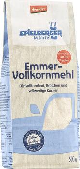 Spielberger Emmer Vollkornmehl, Demeter 500g