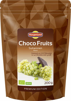 MorgenLand Choco Fruits Sultaninen 200g