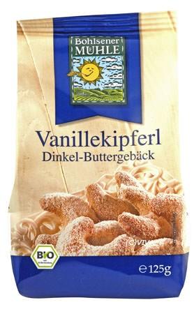 Bohlsener Mühle Dinkel-Vanille-Kipferl 125g