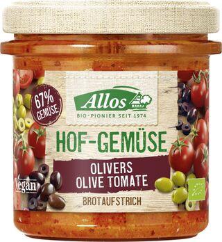 Allos Hofgemüse Olivers Olive Tomate 135g