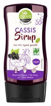 agava Cassissirup Spenderflasche 350g