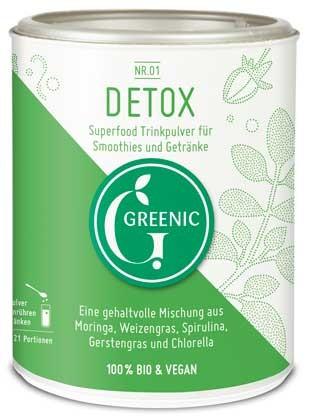 GREENIC Clean Green Trinkpulver Mischung 90g