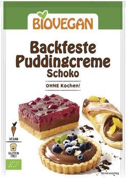 Biovegan backfeste Puddingcreme Schoko 55g
