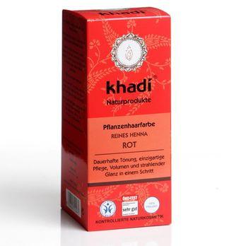 Khadi Pflanzenhaarfarbe Reines Henna Rot 100g