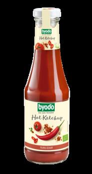 Byodo Hot Ketchup, scharf 500ml