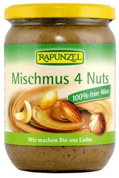Rapunzel Mischmus 4 Nuts 500g