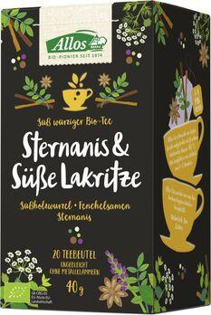 Allos Tee Sternanis Und Süße Lakritze 20 Btl