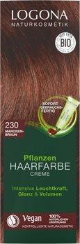 LOGONA Pflanzen-Haarfarbe Creme 230 maronenbraun 150ml