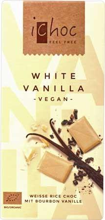 Vivani iChoc White Vanilla 80g