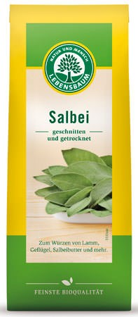 Lebensbaum Salbei, geschnitten 12,5g