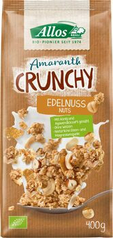 Allos Amaranth Crunchy Edelnuss 400g