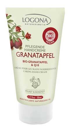 LOGONA Handcreme Bio Granatapfel & Q10 50ml