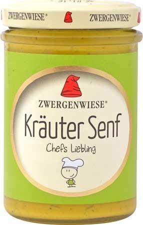 Zwergenwiese Kräuter Senf 160ml