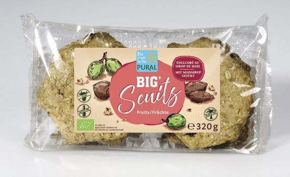 Pural Big Scuits Früchte 320g