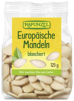 Rapunzel Europäische Mandeln blanchiert 125g