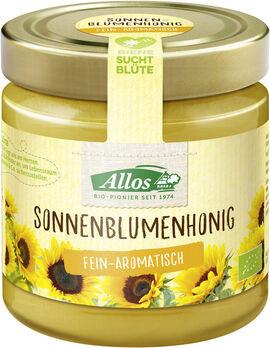 Allos Sonnenblumenhonig Bio 500g