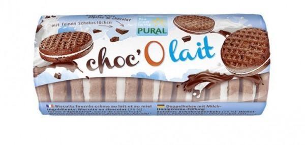 Pural Choc'O lait Dinkel-Schoko-Keks 85g