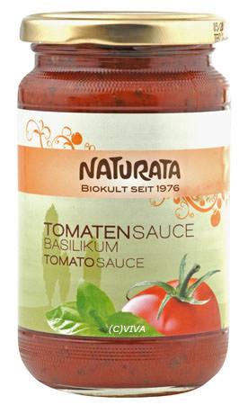 Naturata Tomatensauce Basilikum 360g