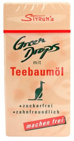 Styrums Green Drops Teebaumöl-Pastillen 30g
