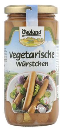 ökoland Vegetarische Würstchen 200g