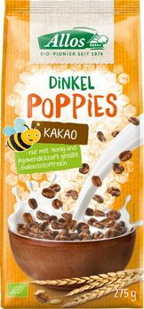 Allos Dinkel Kakao-Poppies 275g