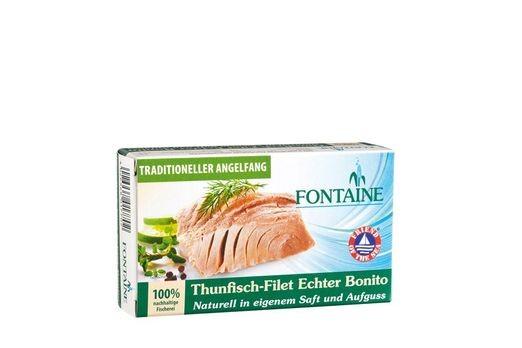 Fontaine Thunfisch-Filet Echter Bonito Naturell 120g