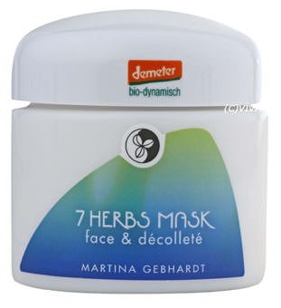 Martina Gebhardt 7-Herbs Vital Mask Face and Décolleté demeter 100ml
