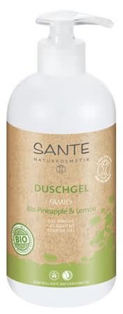 SANTE Family Duschgel Bio-Pineapple und Lemon 500ml