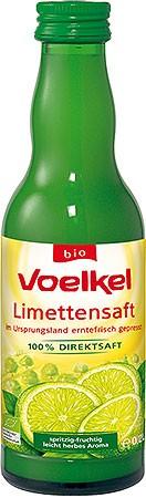 Voelkel Limettensaft 0,2l + 0,15 EUR Pfand