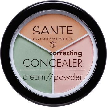 SANTE Correcting Concealer Cream Powder 3 Töne 6g