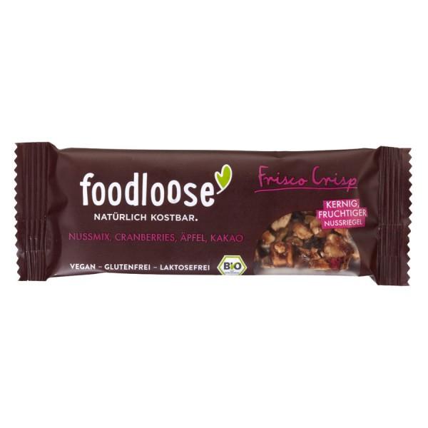 foodloose Frisco Crisp Nussriegel 35g