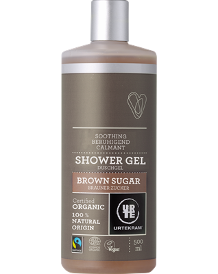 Urtekram Shower Gel Brown Sugar Duschgel 500ml