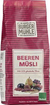 Burgermühle Beeren Müsli 750g