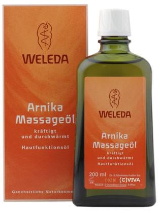 Weleda Massageöl mit Arnika 200ml