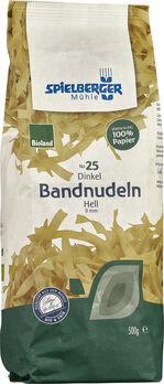 Spielberger Dinkel-Bandnudeln hell, 9mm breit, Bioland 500g