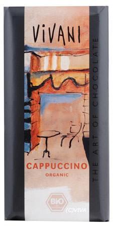 Vivani Cappuccino Schokolade 100g
