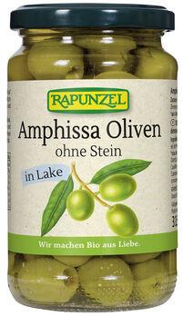 Rapunzel Amphissa Oliven ohne Stein in Lake 170g