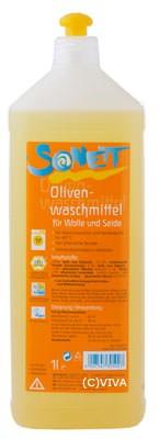 Sonett Oliven-Waschmittel für Wolle und Seide 1l