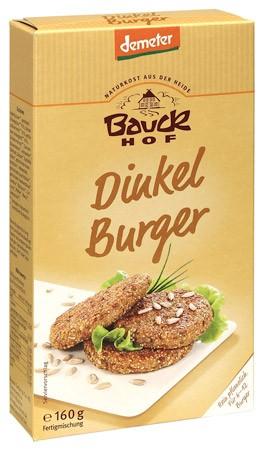 Bauckhof Dinkelburger demeter 160g